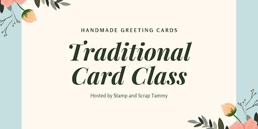 December Traditional Card Class