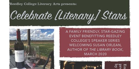Reedley College Literary Arts: Celebrate Literary Stars tickets