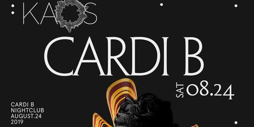 Cardi B @ KAOS Nightclub