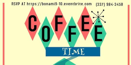 COFFEE TIME BON AMI - SCOTT tickets