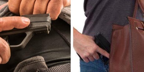 Concealed Weapon Class tickets