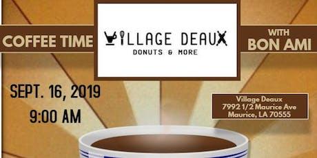 COFFEE TIME BON AMI - MAURICE tickets
