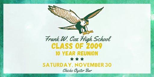 Frank W. Cox High School - Class of 2009 10 Year Reunion