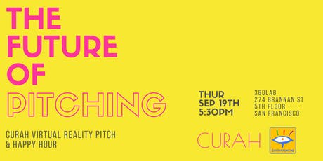 The Future of Pitching - Curah in VR tickets
