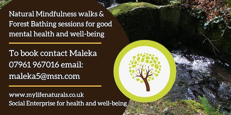Tamworth Natural Mindfulness well-being walk tickets
