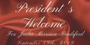 Welcome Reception for the 22nd President of Nassau...