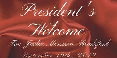 Welcome Reception for the 22nd President of Nassau Alumnae Chapter