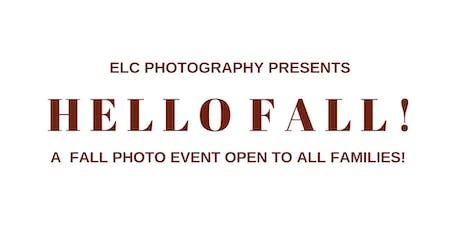 Hello Fall! Family Photoshoot Event tickets