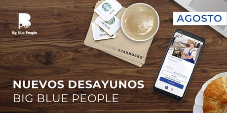 Desayuno capacitacion de Big Blue People entradas