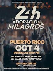 24 Horas de Adoración y Milagros entradas