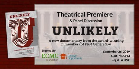 Unlikely: Los Angeles Red Carpet Premiere & Discussion  tickets