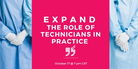 Expand the role of Veterinary Technicians in Practice tickets