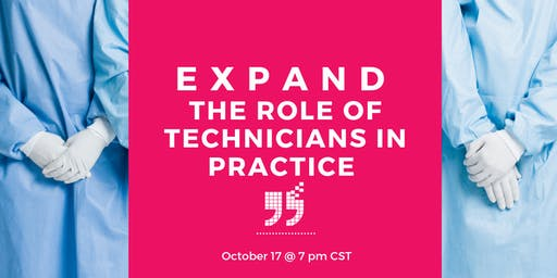 Expand the role of Veterinary Technicians in Practice
