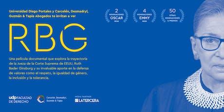 Pelicula RBG (La Jueza) tickets