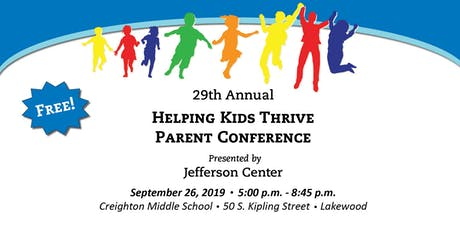Helping Kids Thrive Parent Conference 2019 tickets