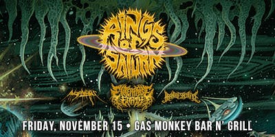 Rings Of Saturn w/ Enterprise Earth, Angelmaker