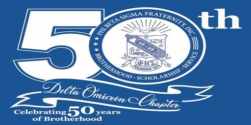 Phi Beta Sigma Fraternity Delta Omicron Chapter 50 Year Anniversary