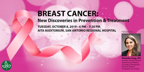 BREAST CANCER: New Discoveries in Prevention & Treatment tickets