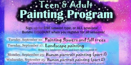 Teen & Adult Painting Program