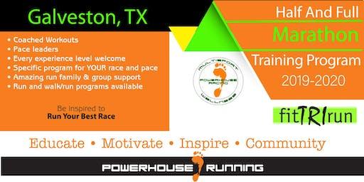 Full & Half Marathon Training