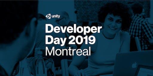 Journée des développeurs de Unity 2019 : Montréal