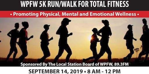 WPFW 5K Run/Walk for Total Fitness