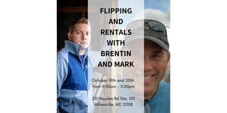 Flipping and Rentals 2 Day Event with Mark Owens and Brentin Hess tickets