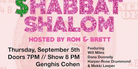 Shabbat Shalom LA tickets