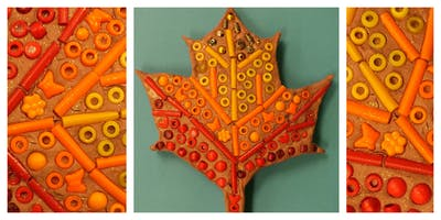FALL 2019 Mommy's Time Off- Clay Factory: Fall Mosaics (3-9 Years)