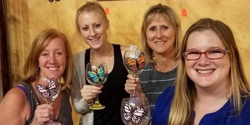 Wine Glass Painting at The Loft Wine Bar 9/21 @ 1:30PM