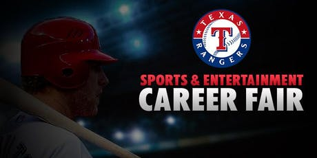2019 Texas Rangers Sports & Entertainment Career Fair tickets