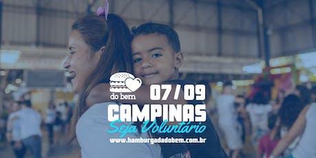 Hamburgada do Bem - Campinas  ( Vila Renascença) - HB 96 entradas
