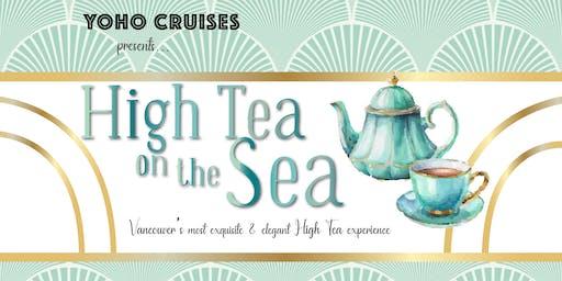 High Tea on the Sea with Yoho Cruises