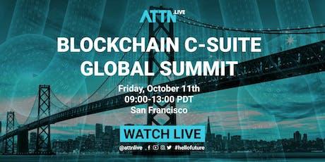 Blockchain C-suite Global Summit tickets