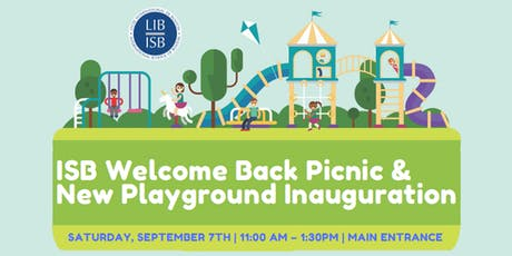 Welcome Back Picnic and New Playground Inauguration  tickets