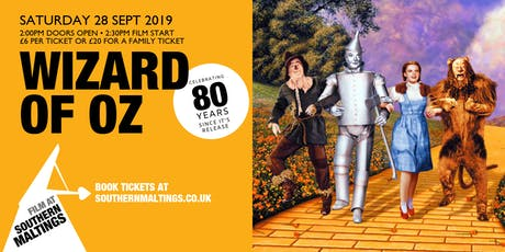 Wizard of Oz - Cinema Experience Celebrating 80yrs tickets