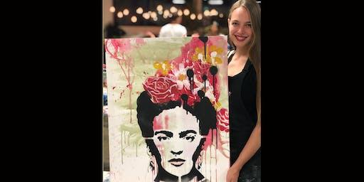Frida Kahlo Paint and Sip Brisbane 26.10.19