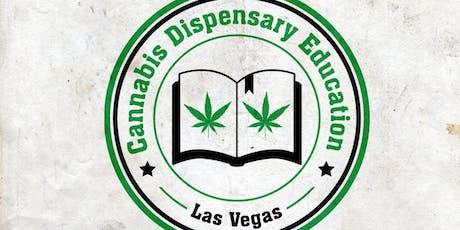 Cannabis Dispensary Education Las Vegas October 20th: Get A Retail Marijuana Industry Job tickets