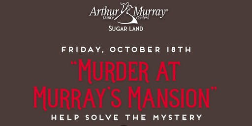 Murder Mystery Dinner Dance