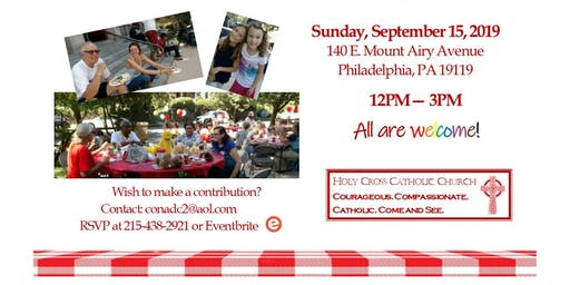 JOIN US  at Holy Cross Community Picnic - Family & Friends Day 2019