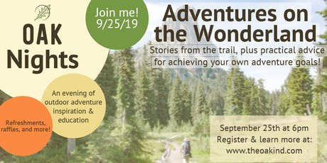 OAK Nights - September Event - Adventures on the Wonderland tickets