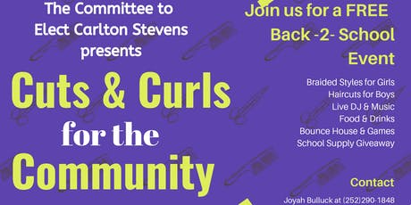 Cuts & Curls for the Community tickets