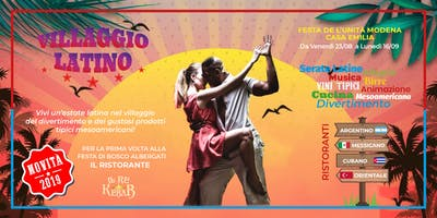 Villaggio Latino - Festa de l'Unità Modena Casa Emilia