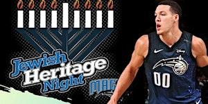 Jewish Heritage Night with the Orlando Magic. We are...
