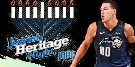 The 6th Annual Jewish Heritage Night with the Orlando Magic tickets