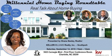 Millennial Home Buying Roundtable tickets