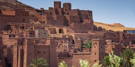 Conférence: Maroc 25 sept billets