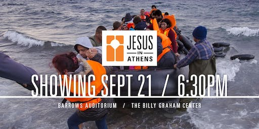 Jesus in Athens at The Billy Graham Center