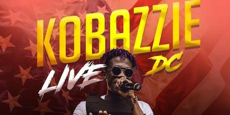 Kobazzie Live In DC tickets
