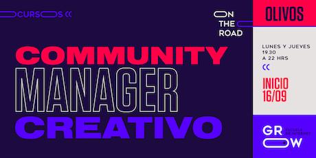Community Manager Creativo (Olivos) entradas